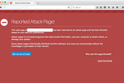 firefox reported attack page blacklisted warning website image example