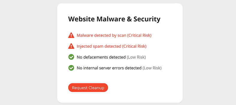 how to scan wordpress site for malware step 3