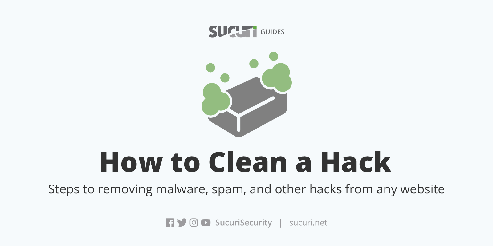 Learn How to Clean Malware from a Hacked Website | Sucuri